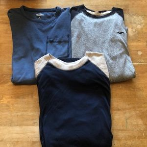 Men's Hollister Shirt Bundle- Medium